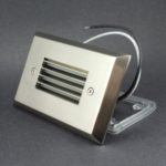 LED Step Light Assembly - Nickel
