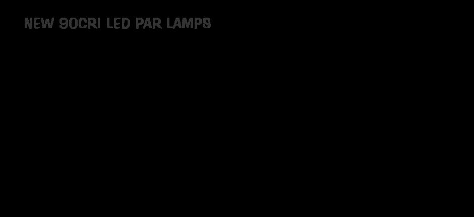 CNA 90CRI PAR LAMPS
