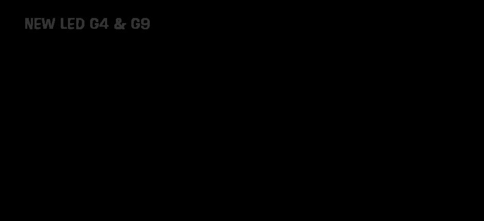 CNA LIGHING LED G9 & G4