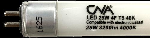 LED 25W 4F T5 40K (500x128)